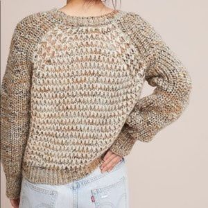 Anthropologie Sweaters - ANTHROPOLOGIE chunky knit Hillwalk sweater
